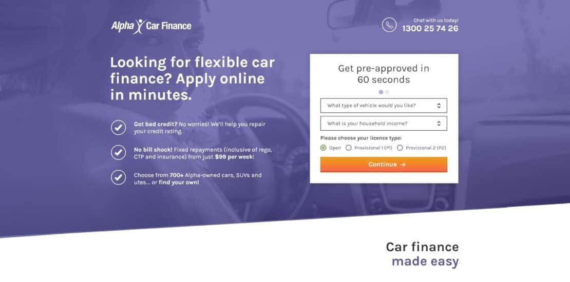 Alpha Car Finance