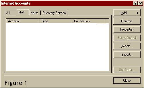 Outlook Express Setup Help