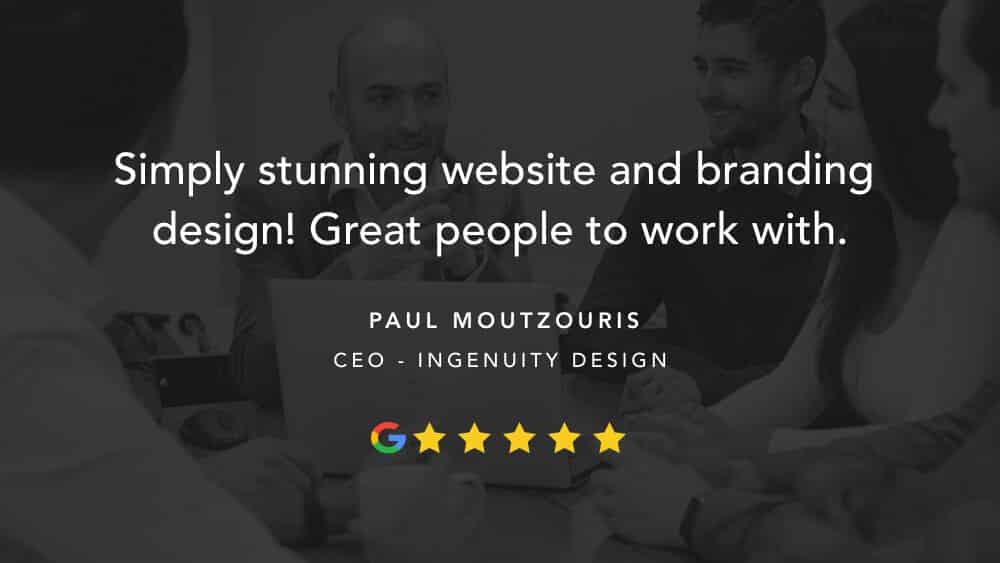 A 5-star review from Ingenuity