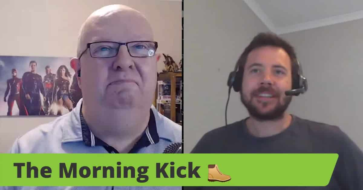 The Morning Kick Episode 1 - With Scott Maynard