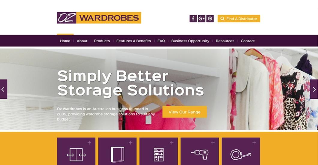 Web design brisbane excite media get excited case studyoz wardrobes reheart Choice Image