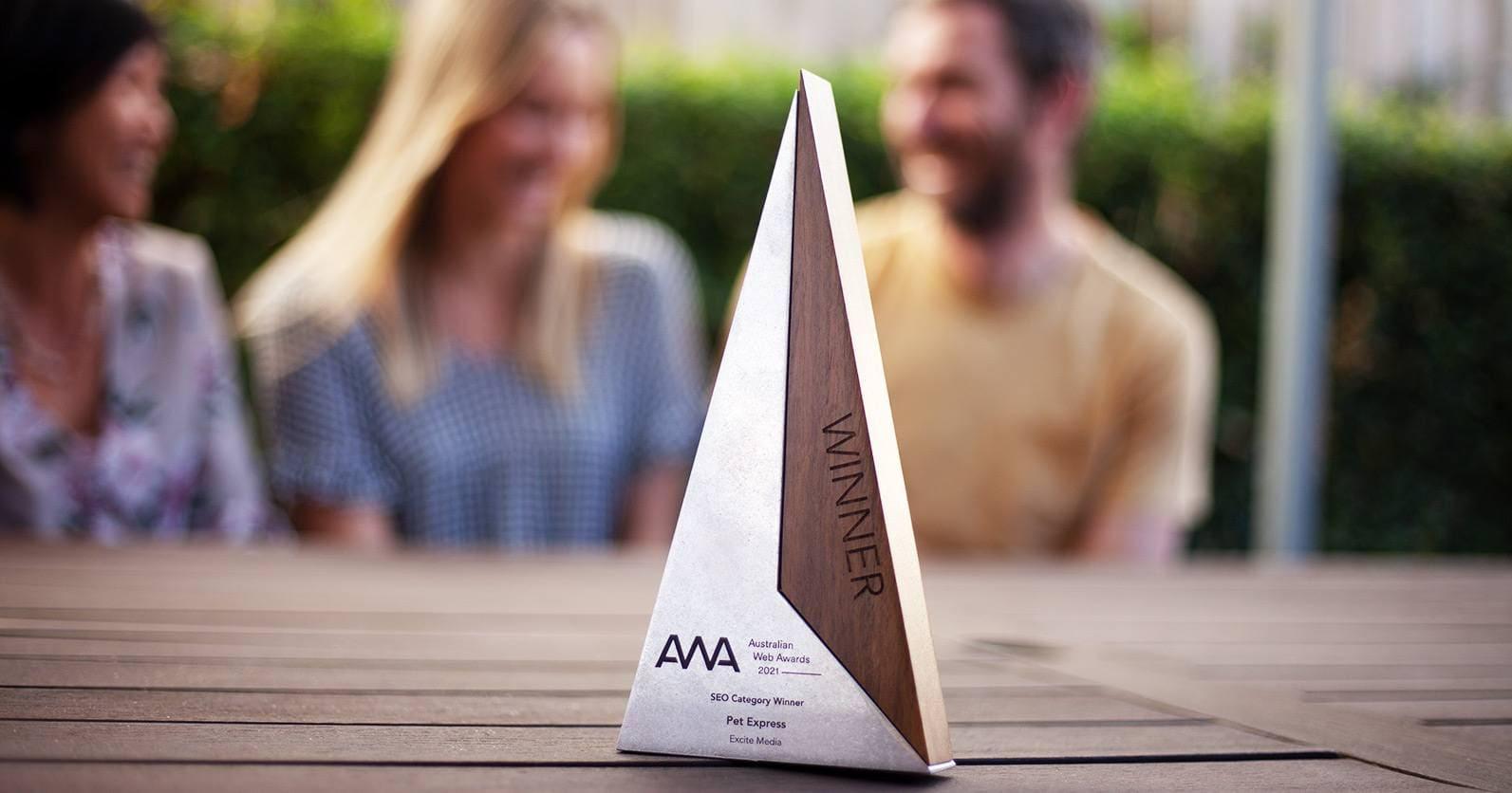 Australian Web Award SEO Winners 2021